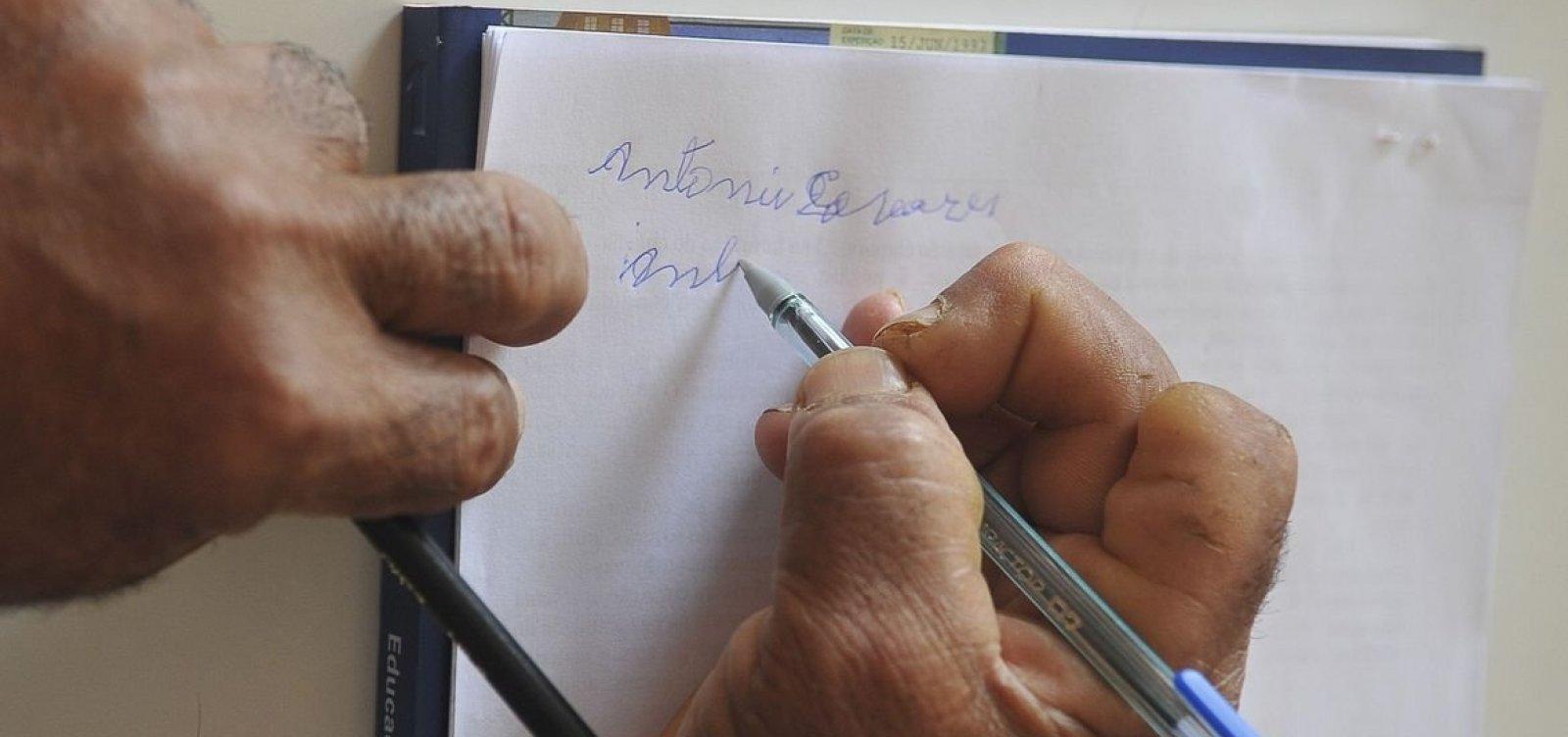 [Bahia tem maior taxa de analfabetismo do Brasil, diz IBGE]