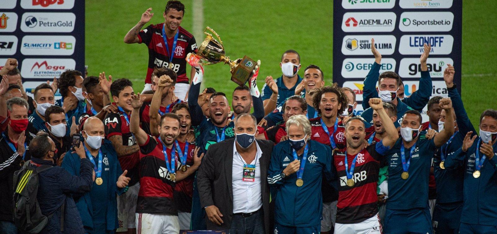 [Flamengo vence Fluminense por 1 a 0 e é campeão carioca 2020]