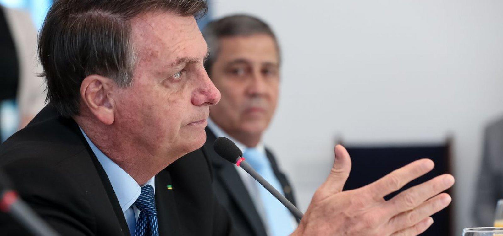 [Bolsonaro diz que tributação digital não é nova CPMF]