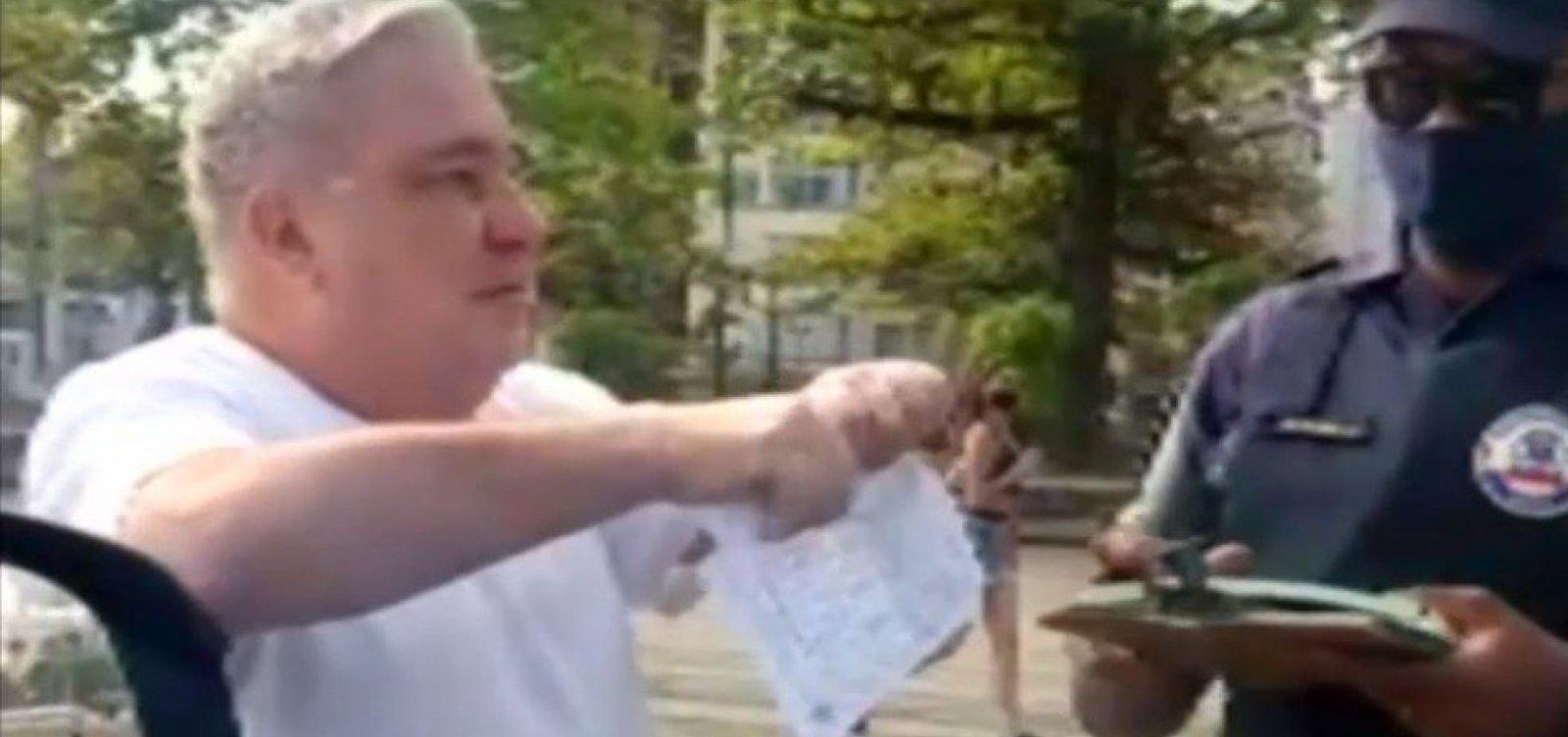 [CNJ intima desembargador a prestar esclarecimentos após vídeo em que humilha guardas municipais]