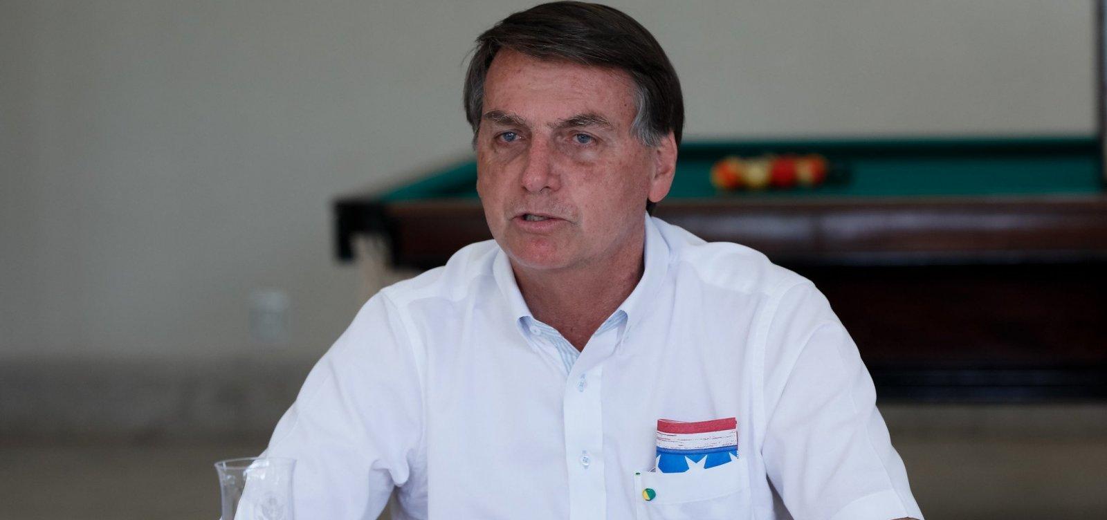 [Novo teste para coronavírus de Bolsonaro dá positivo]