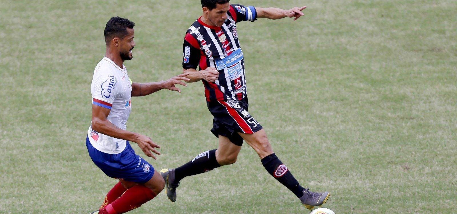 [Bahia sofre derrota para Atlético de Alagoinhas e perde liderança do Baianão]