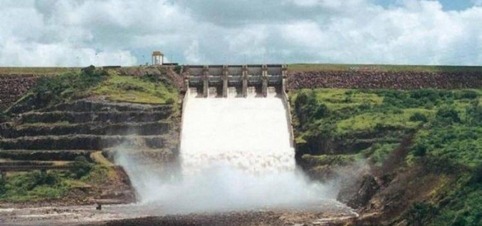 [Comportas da barragem Pedra do Cavalo serão abertas para teste de calha do Rio Paraguaçu]