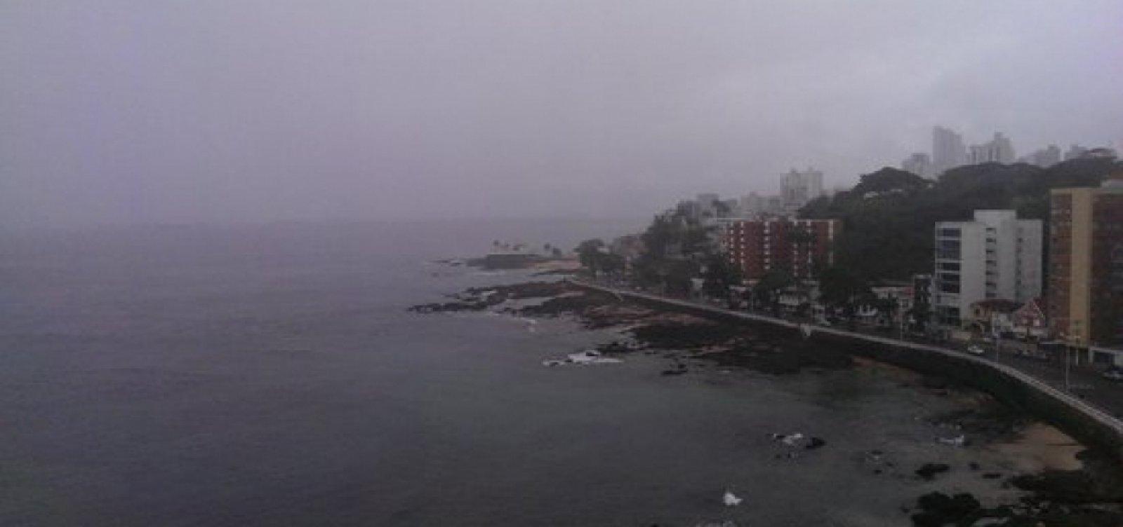 [Marinha emite alerta de mau tempo para litoral da Bahia; ventos podem chegar a 75 km/h]