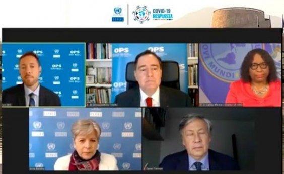 [Covid-19: Não há reabertura possível sem controle do contágio, alertam instituições da ONU]