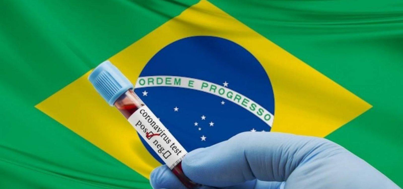 [Brasil registra 1.129 mortes por coronavírus em 24 horas; novos casos chegaram a 57.837]