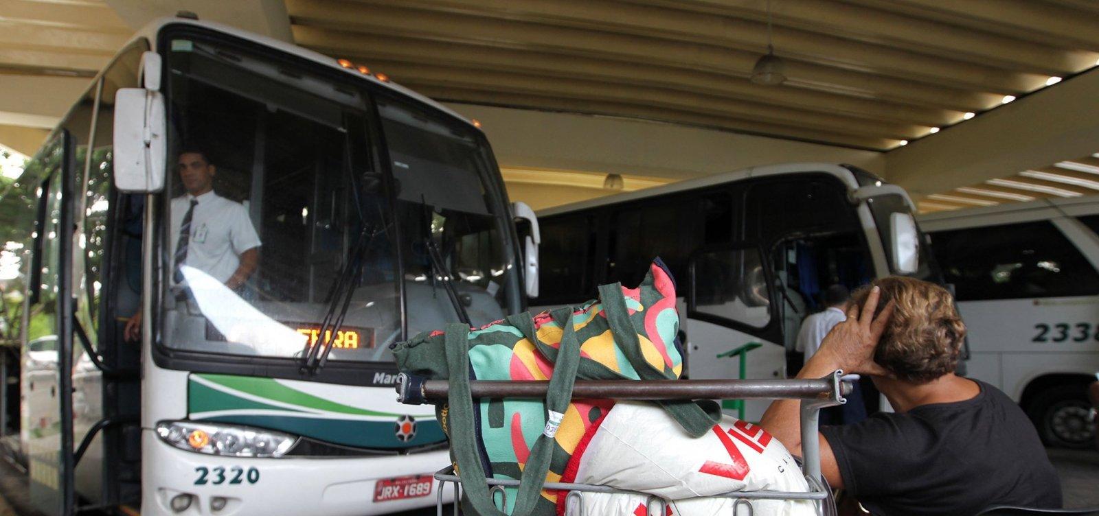 [Bahia tem mais uma cidade com transporte suspenso; total chega a 390]
