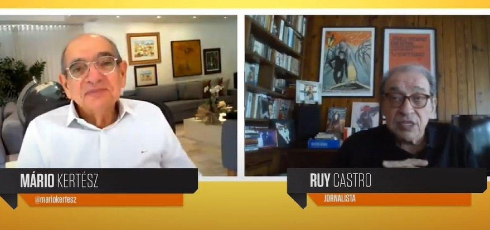[Com 60 anos de carreira, Ruy Castro anuncia curso para escrita ficcional, não-ficção e crônica]