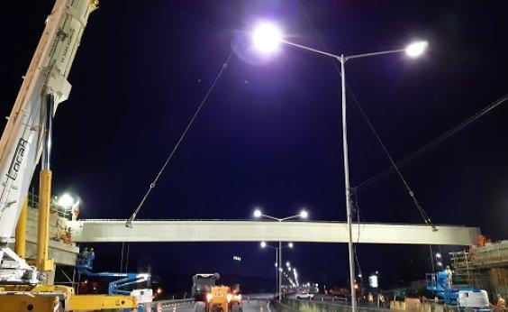 [Trânsito é desviado na região da Estação Pirajá para construção de viaduto]