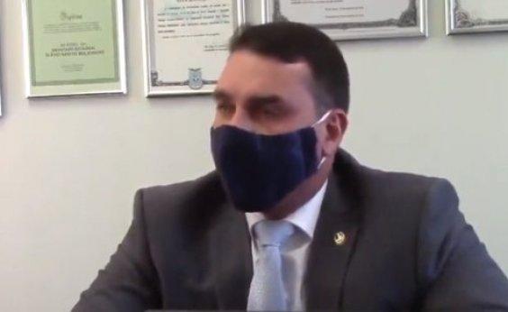 [Flávio admite reunião com Paulo Marinho, mas nega vazamento de Operação Furna da Onça]