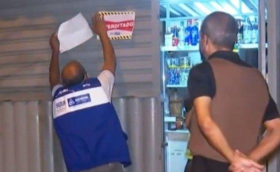 [Operação em Salvador interdita 14 estabelecimentos nesta sexta]