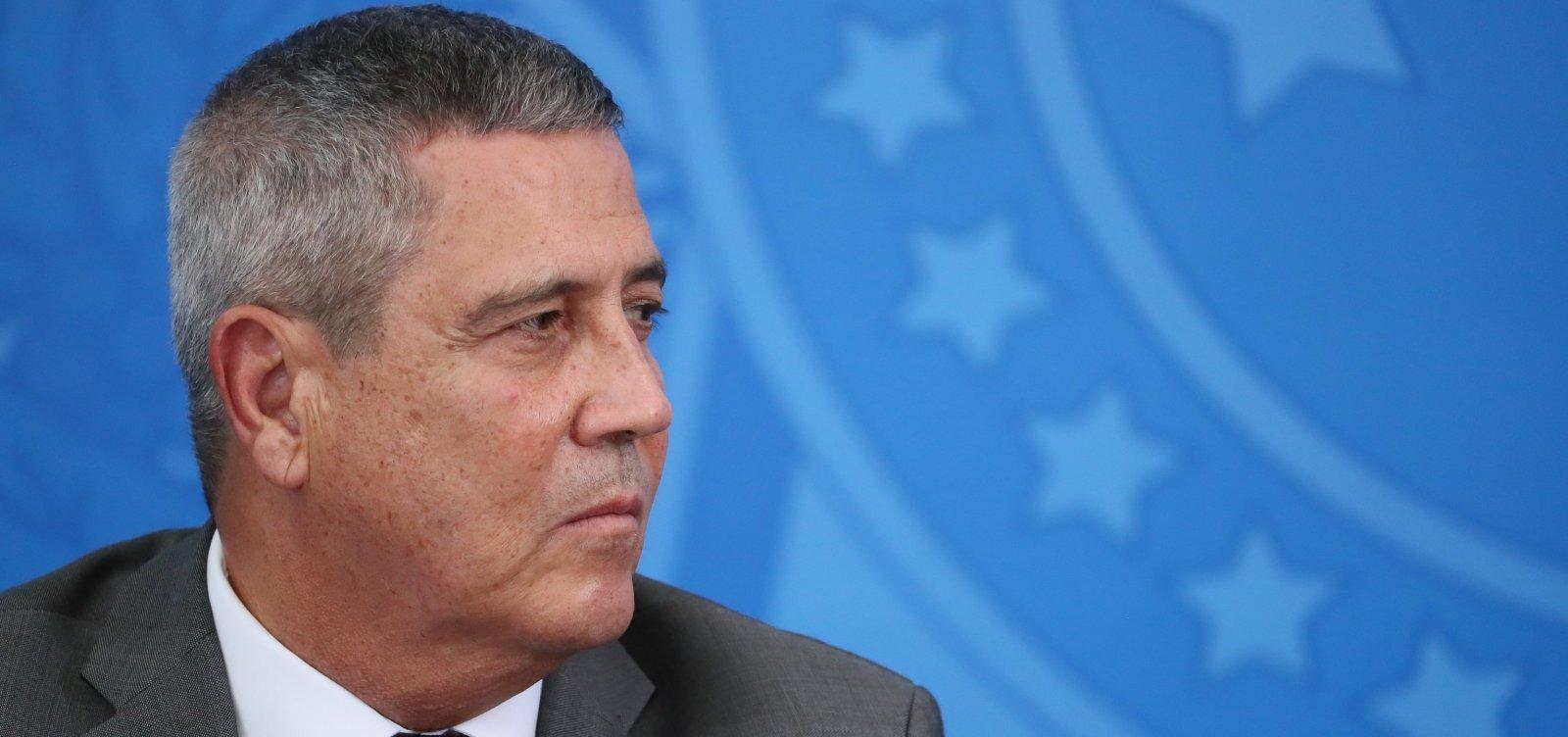 [Ministro Braga Netto é diagnosticado com coronavírus]
