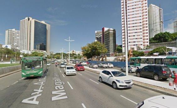 [Salvador registra domingo com maior fluxo de veículos durante pandemia]