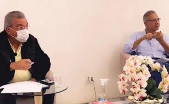 [Targino Machado anuncia apoio a Carlos Geilson para prefeito de Feira]
