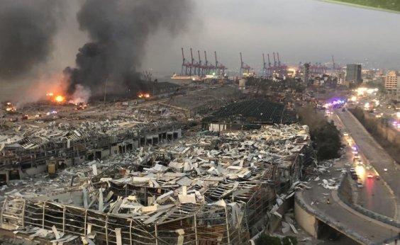 [Grande explosão em Beirute deixa ao menos 50 mortos e 2,7 mil feridos]