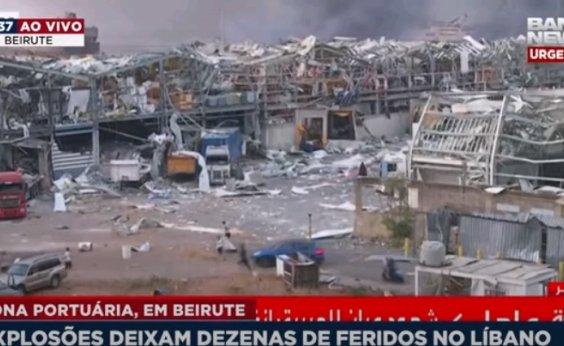 [Beirute: Itamaraty diz que não há relatos de brasileiros mortos em explosão]