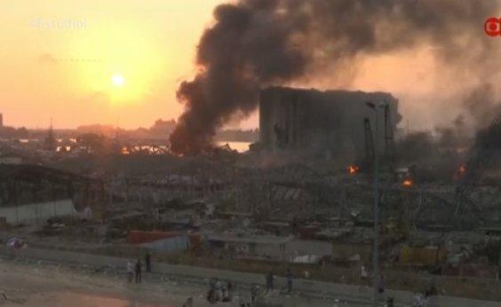 [Número de mortos após explosão no Líbano sobe para 73]
