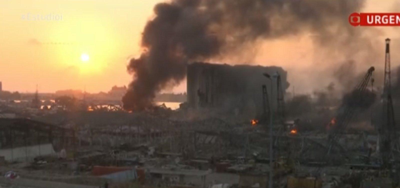 [Explosão em Beirute deixou uma brasileira ferida, diz Itamaraty]