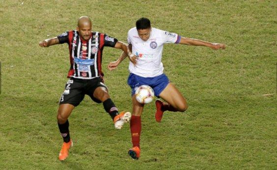 [Baianão: Bahia empata com Atlético de Alagoinhas no primeiro duelo da final ]