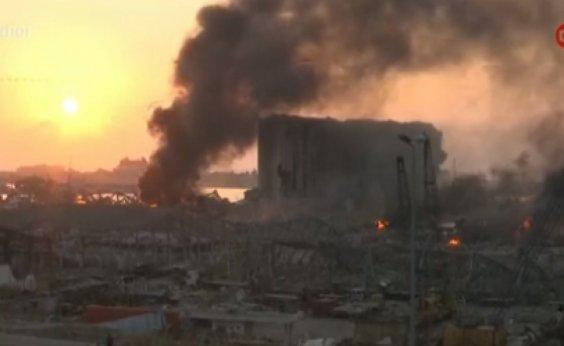 [Número de mortos em Beirute chega a 137; mais de 300 mil estão desabrigados]