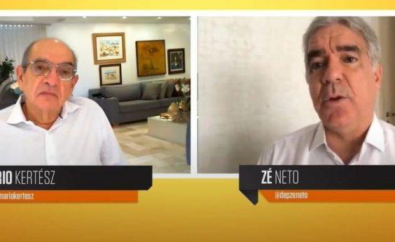 [Zé Neto critica estratégia da prefeitura de Feira de Santana pra conter avanço da Covid-19]