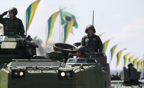 [Governo determina que Forças Armadas não participem de celebrações do 7 de setembro]