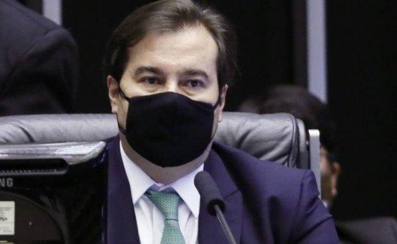 [Rodrigo Maia diz que prisão de Baldy foi 'um pouco arbitrária']