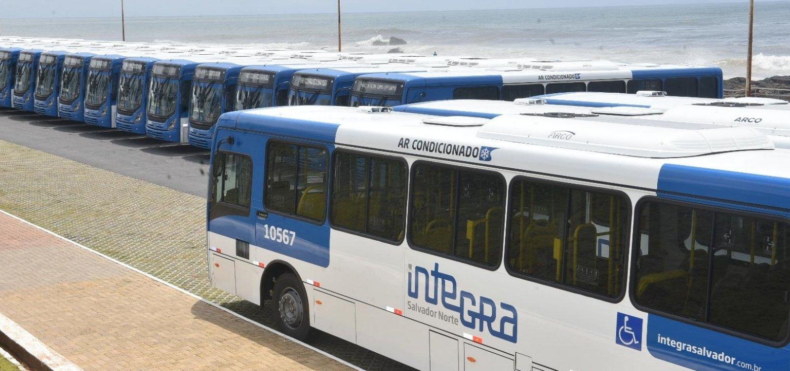 [Frota de ônibus em Salvador sobe 10% para fase 2 de retomada]