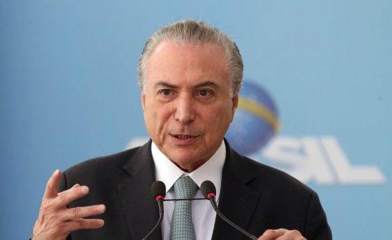 [Convidado para chefiar missão no Líbano, Temer precisa de autorização da Justiça para sair do Brasil]