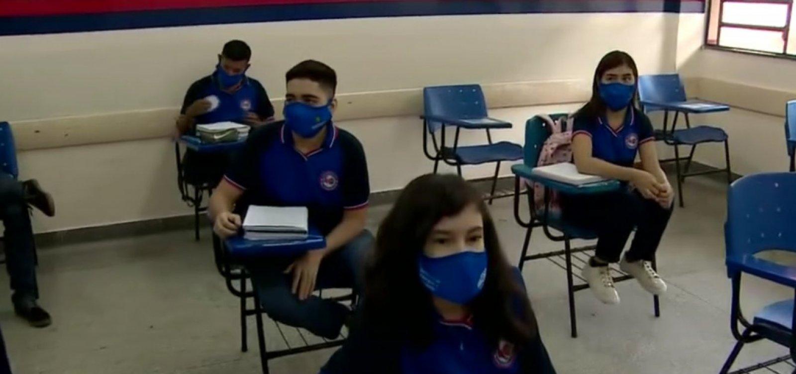 [Amazonas é o 1º estado a retomar aulas presenciais na rede pública]