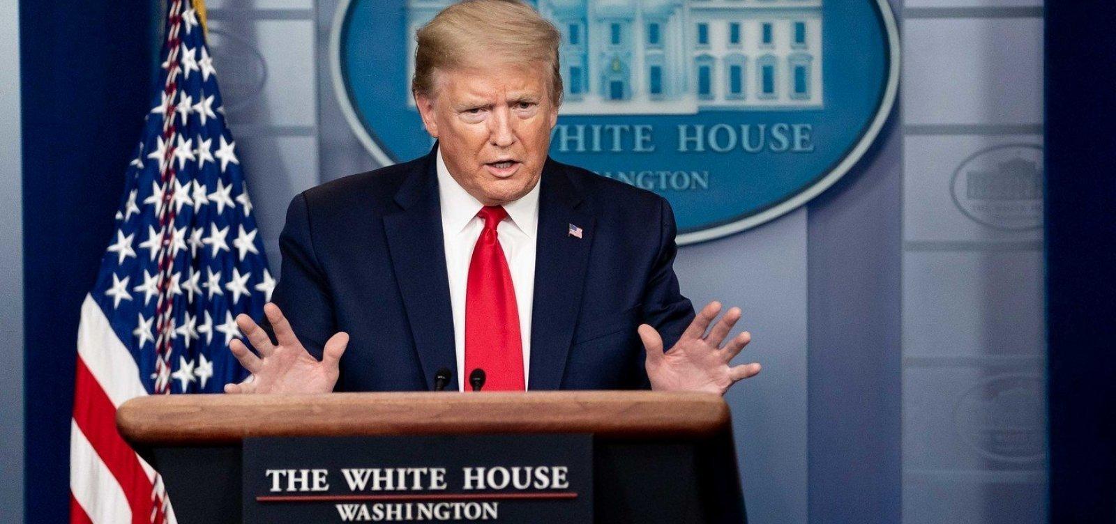 [Coletiva de imprensa de Donald Trump é interrompida após tiroteio nos arredores da Casa Branca]