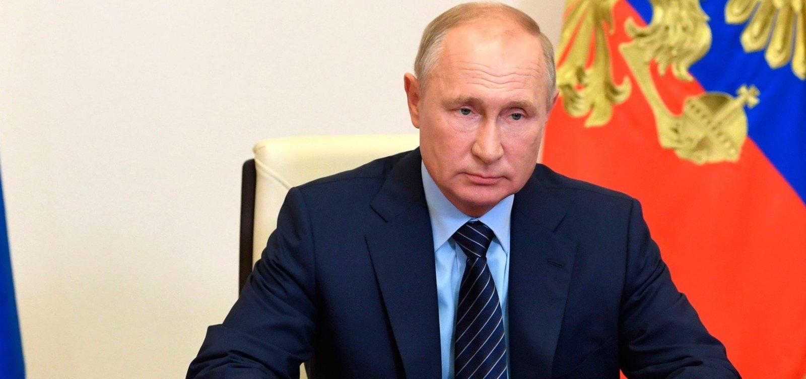 [Rússia registra primeira vacina contra o coronavírus]