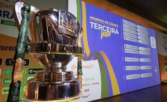 [CBF divulga nova tabela da Copa do Brasil; Vitória enfrenta o Ceará dia 26 de agosto]