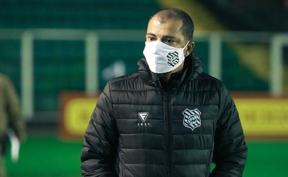 [Adversário do Vitória, técnico do Figueirense é diagnosticado com coronavírus]
