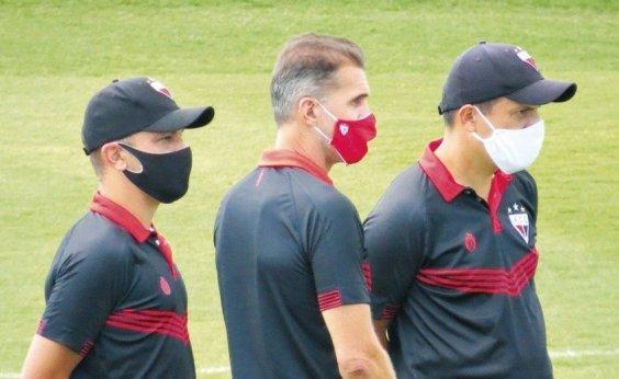 [CBF autoriza atletas com coronavírus do Atlético-GO a jogar contra o Flamengo nesta quarta]