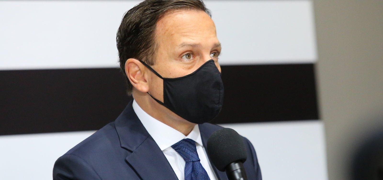 [João Doria é diagnosticado com coronavírus]