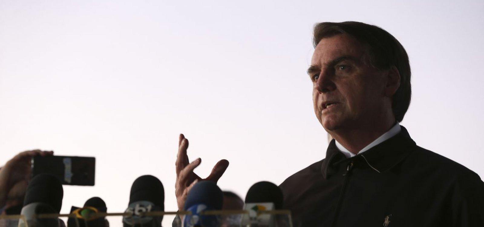 [Bolsonaro defende privatizações e responsabilidade fiscal do Estado]