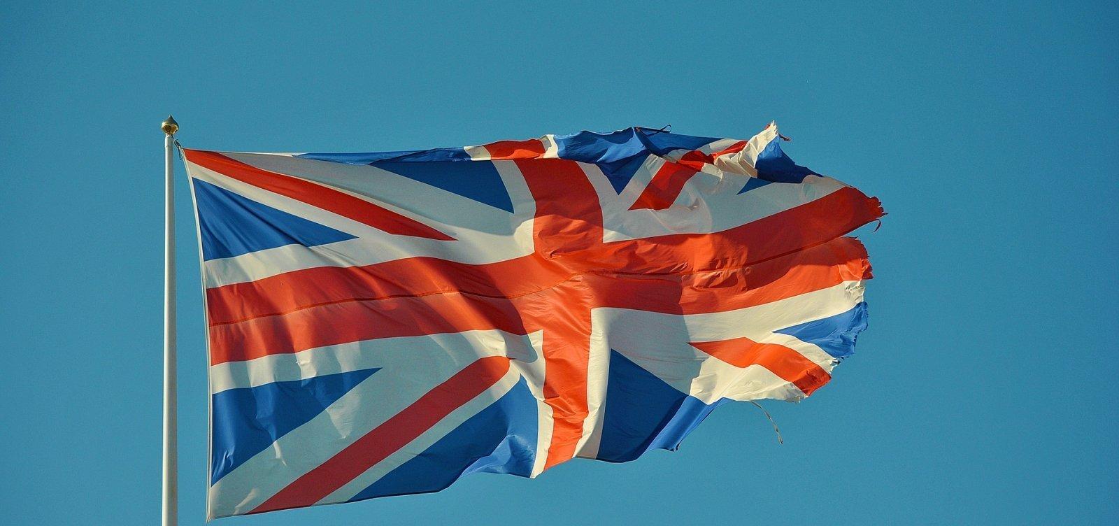 [PIB do Reino Unido despenca 20,4% no segundo trimestre]