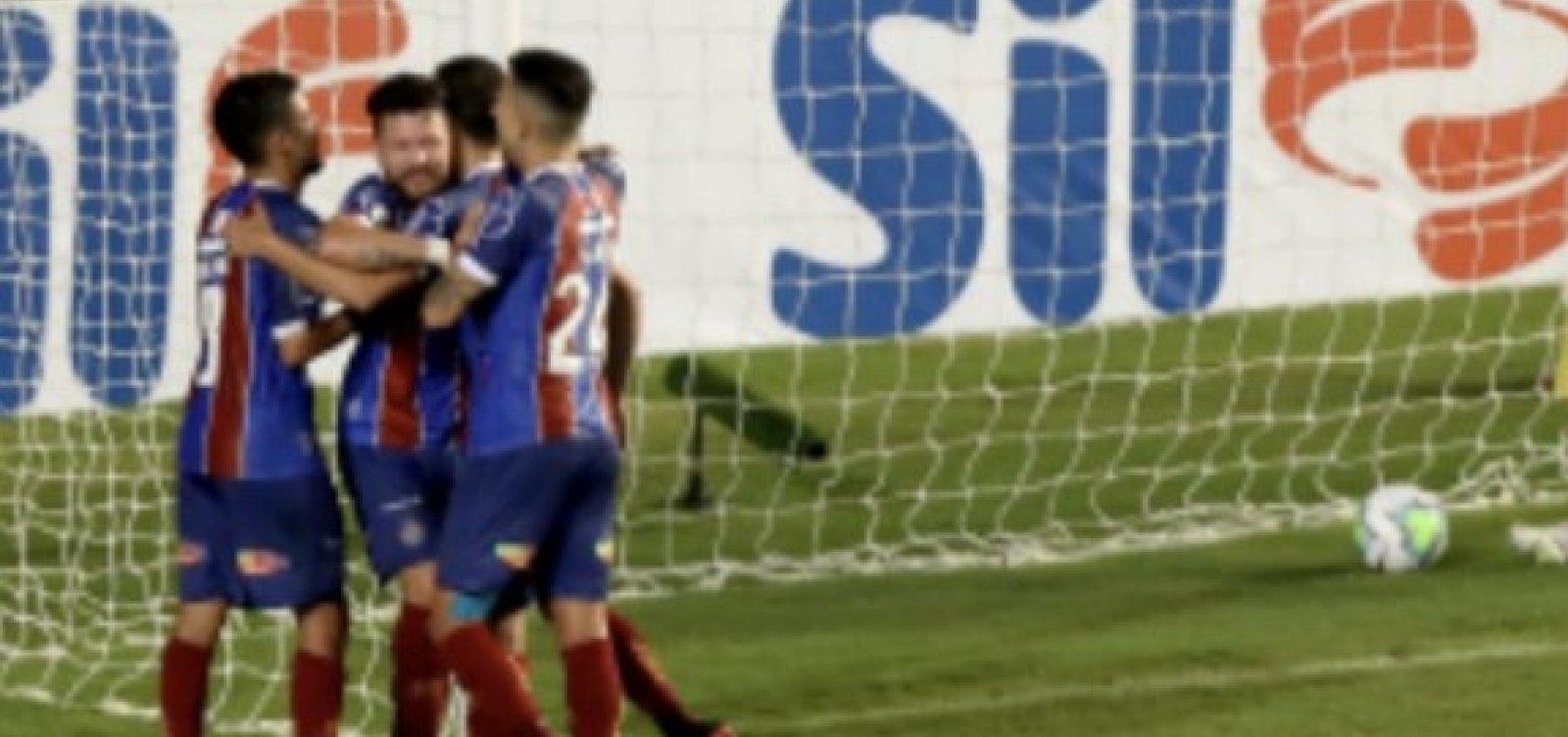 [Bahia estreia no Brasileirão com vitória suada em Pituaçu]