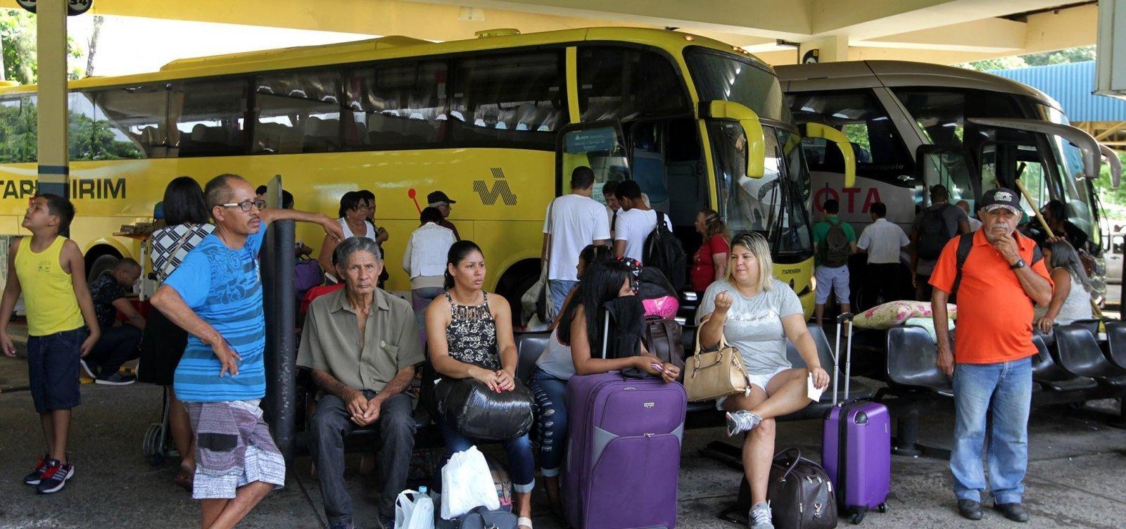 [Mais três cidades baianas adotam suspensão de transporte intermunicipal a partir desta sexta]