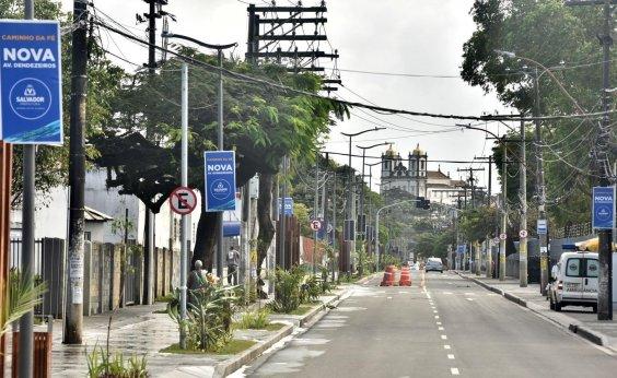 [Prefeitura de Salvador inaugura Caminho da Fé na Cidade Baixa]