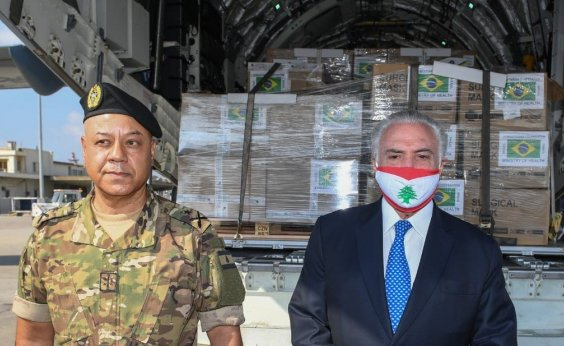 [Missão brasileira de ajuda ao Líbano chega a Beirute]