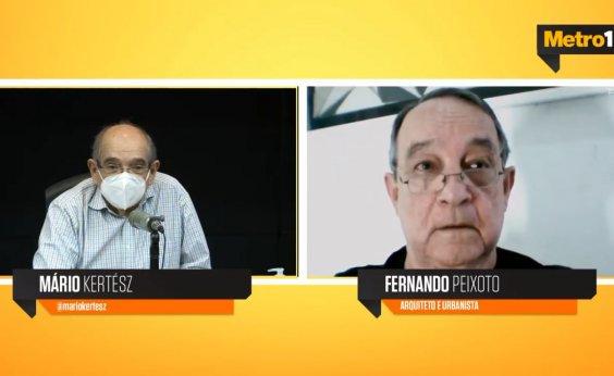 [Pandemia deve deixar 'trauma' ao comunitário, acredita arquiteto Fernando Peixoto]