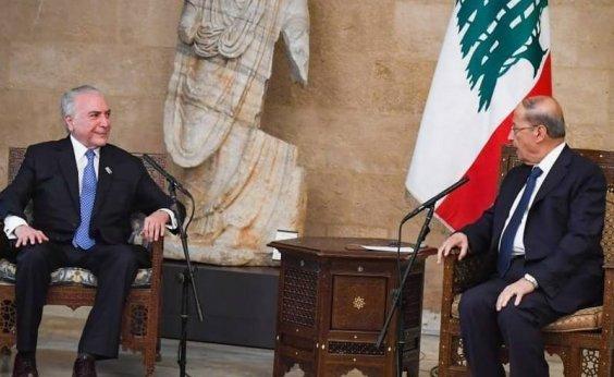 [Temer encontra líderes políticos no Líbano e visita local da explosão]