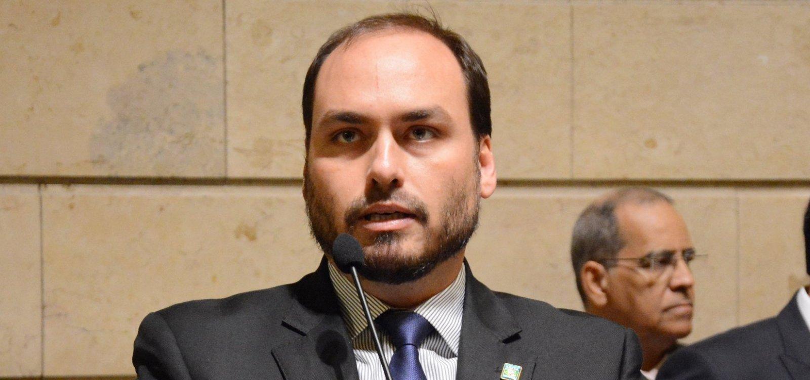 [MP investiga suposta contratação de funcionários fantasmas no gabinete de Carlos Bolsonaro]