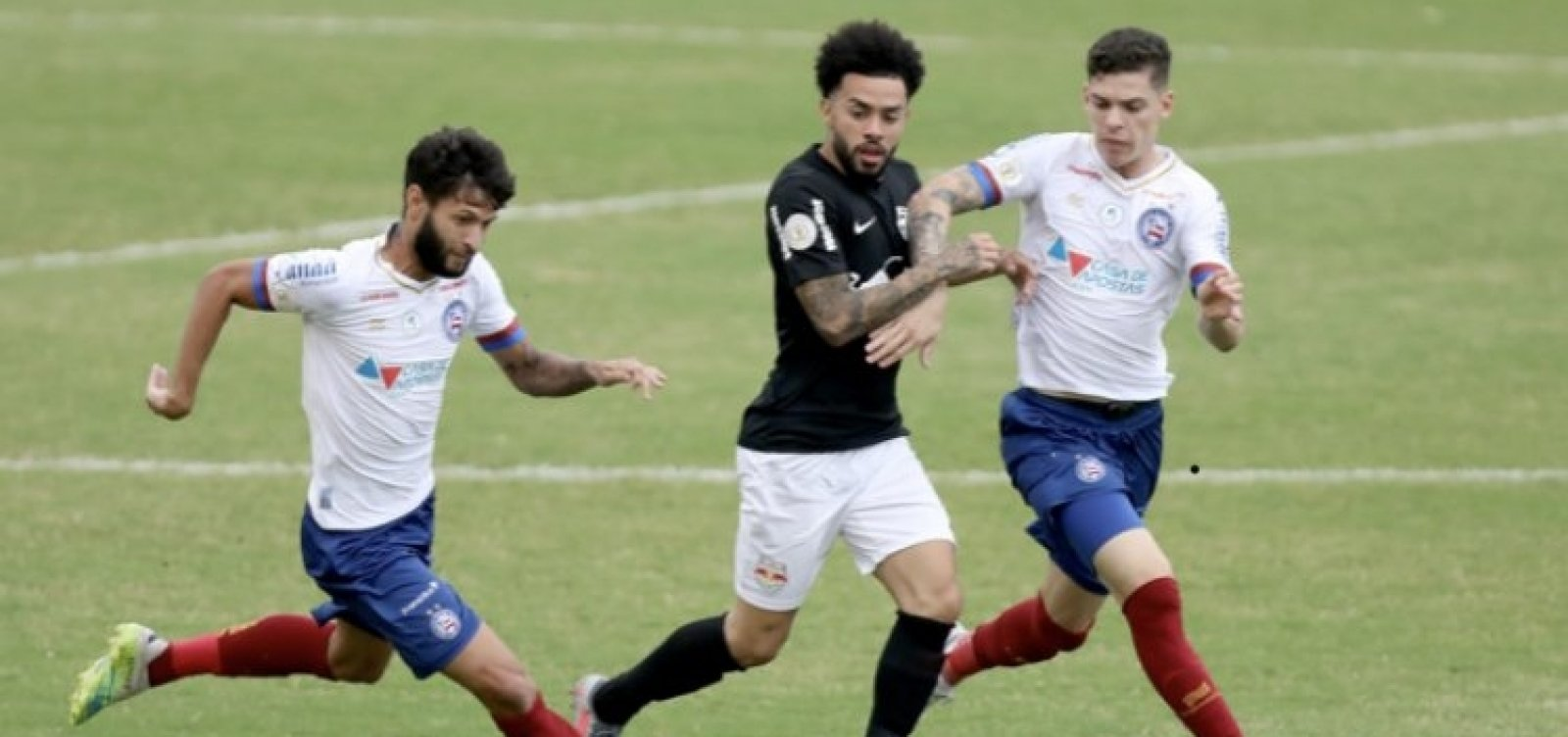 [Bahia vence o Bragantino no Brasileirão e vai a seis pontos]