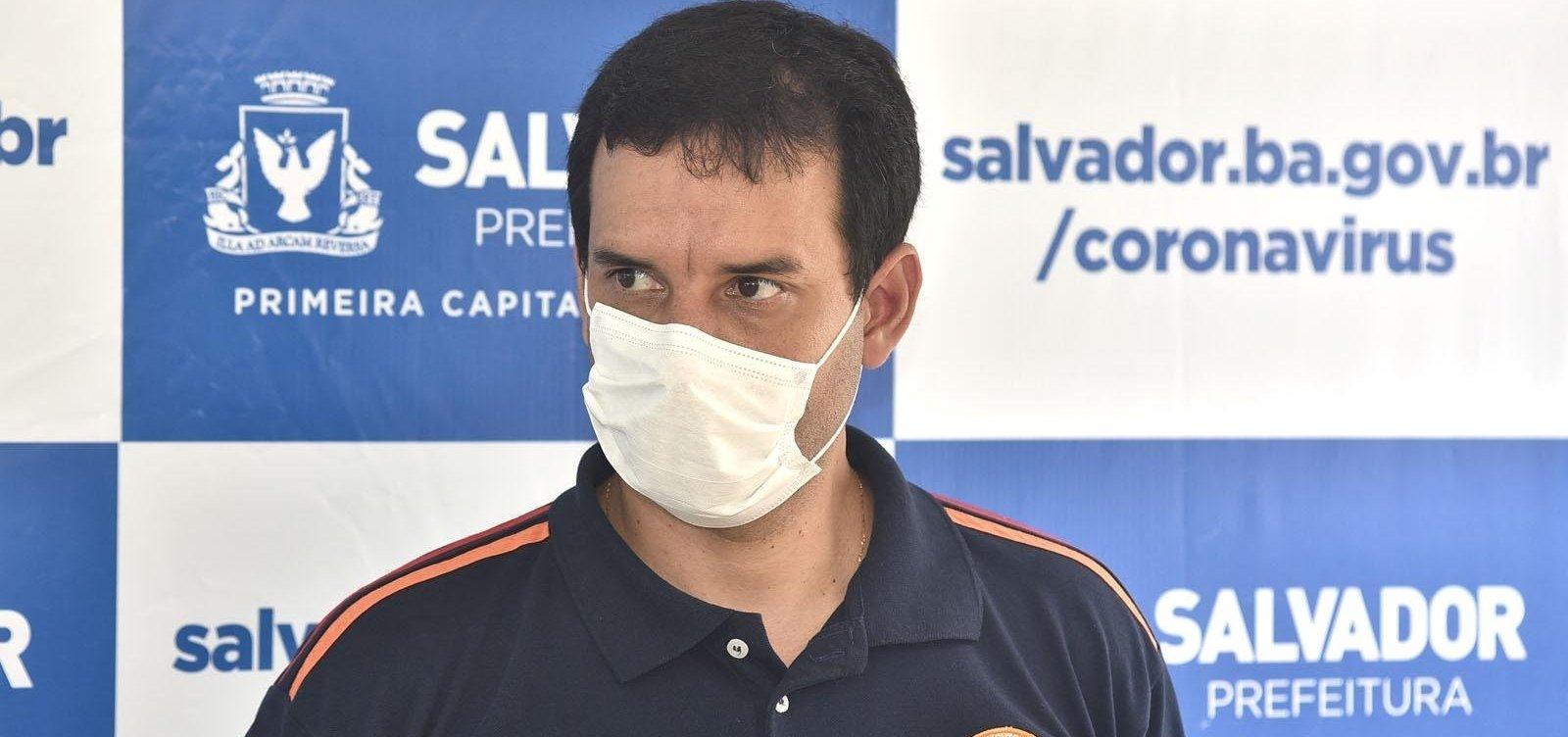 [Secretário de Saúde revela preocupação com reflexos da fase 2 de reabertura em Salvador]