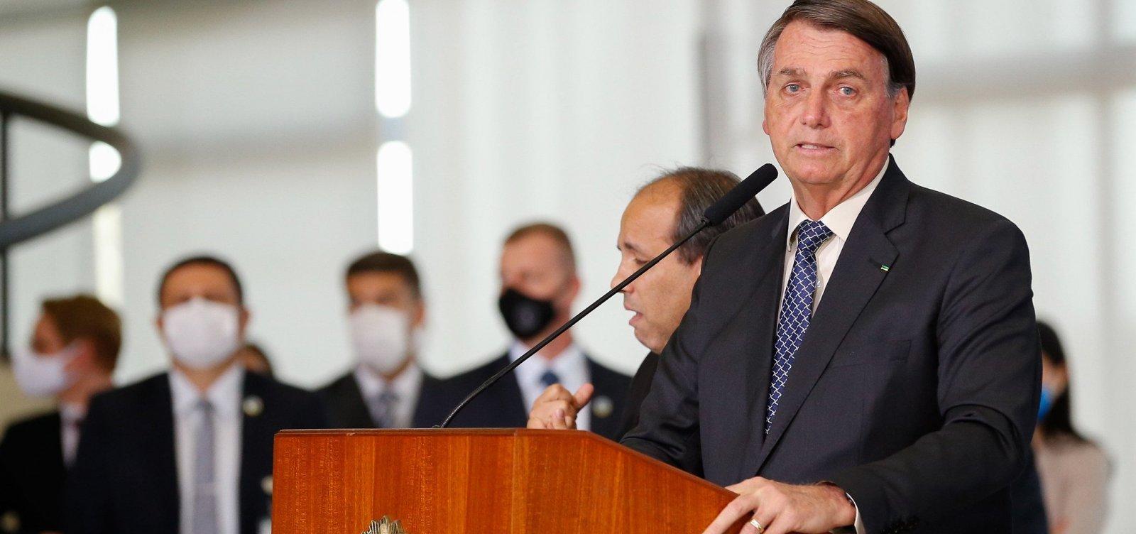 ['Não vi no mundo quem enfrentou a pandemia melhor do que nosso governo', diz Bolsonaro]