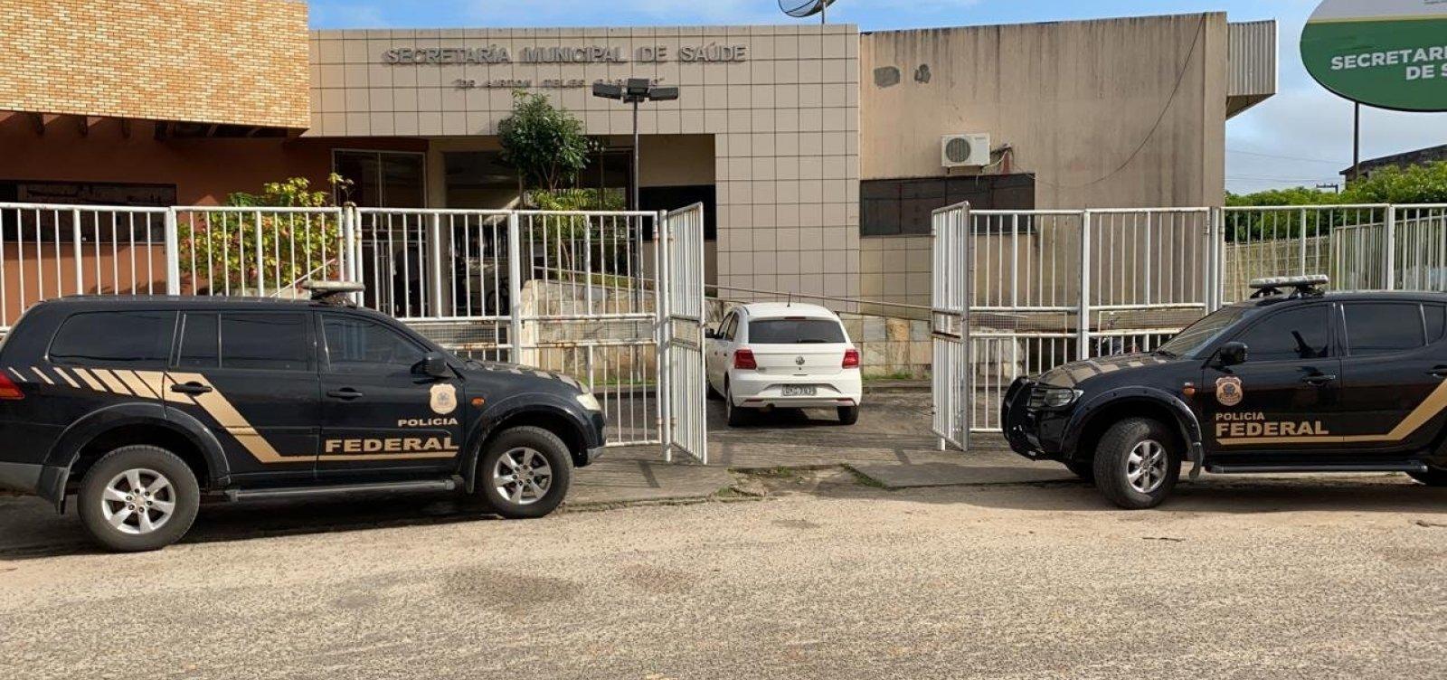 [PF cumpre 32 mandados na Bahia e outros 3 estados em operação sobre desvios na Saúde em SE]