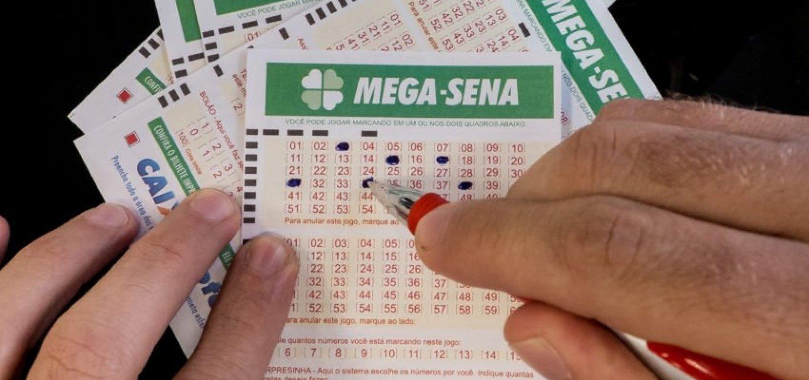 [Mega-Sena pode pagar R$ 40 milhões neste sábado]